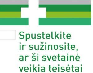 Bendras internetinių vaistinių logotipas