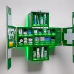 Išmanioji pirmosios pagalbos vaistinėlė pati parenka vaistus (video)