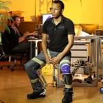 """""""Nematoma kėdė"""" suteiks pagalbą fizinį darbą dirbantiems žmonėms (video)"""