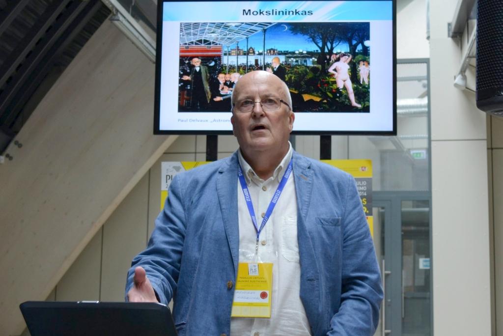 Naują technologiją sukūrusiai komandai vadovauja KTU Sveikatos telematikos mokslo instituto profesorius Arminas Ragauskas (KTU nuotr.)