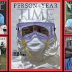 """Kovotojai su Ebola – žurnalo """"TIME"""" metų žmogus"""