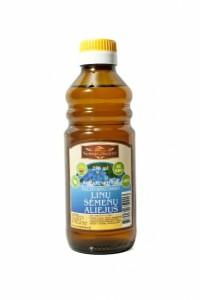 """UAB """"Vetagra"""" gaminamas linų sėmenų aliejus."""
