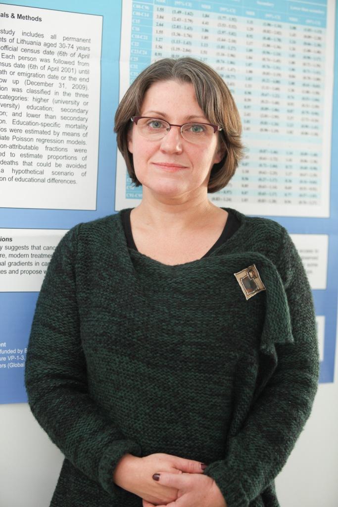 NVI vyriausioji darbuotoja dr. Giedrė Smailytė.