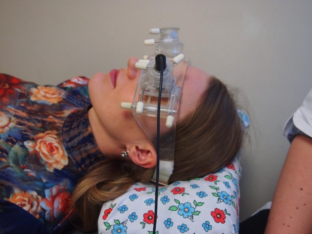 KTU mokslininkai sukūrė prietaisą, padedantį išmatuoti galvospūdį neinvaziniu būdu. (K. Marcinkevičiūtės nuotr.)