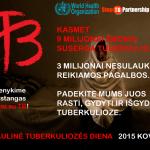 Pasaulinė tuberkuliozės diena. Kodėl ligi šiol nepavyksta nugalėti šios ligos?