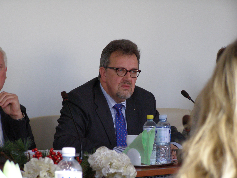 Panevėžio TLK direktorius Jonas Narbutas. (VLK nuotr.)