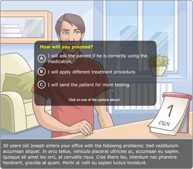 Virtualūs algoritmai žaismingai perteikia informaciją.