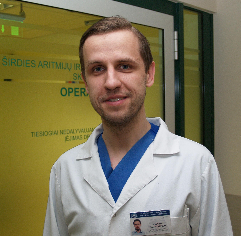 Gydytojas A. Baranauskas. (santa.lt nuotr.)