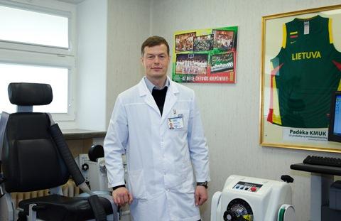 Dr. Gediminas Tankevičius. K. Šimatonio nuotr.