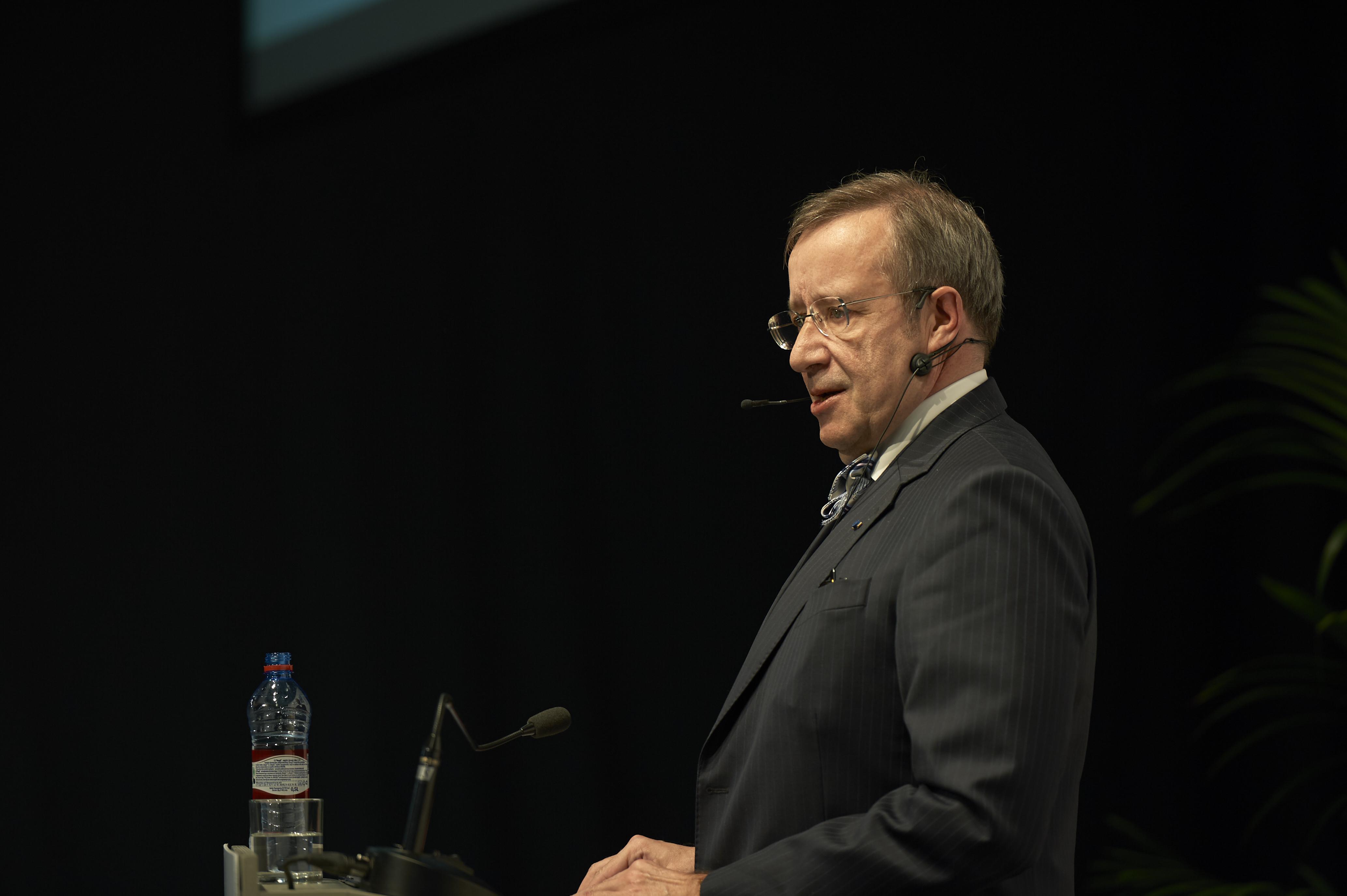 Estijos prezidentas Toomas Hendrik Ilves.
