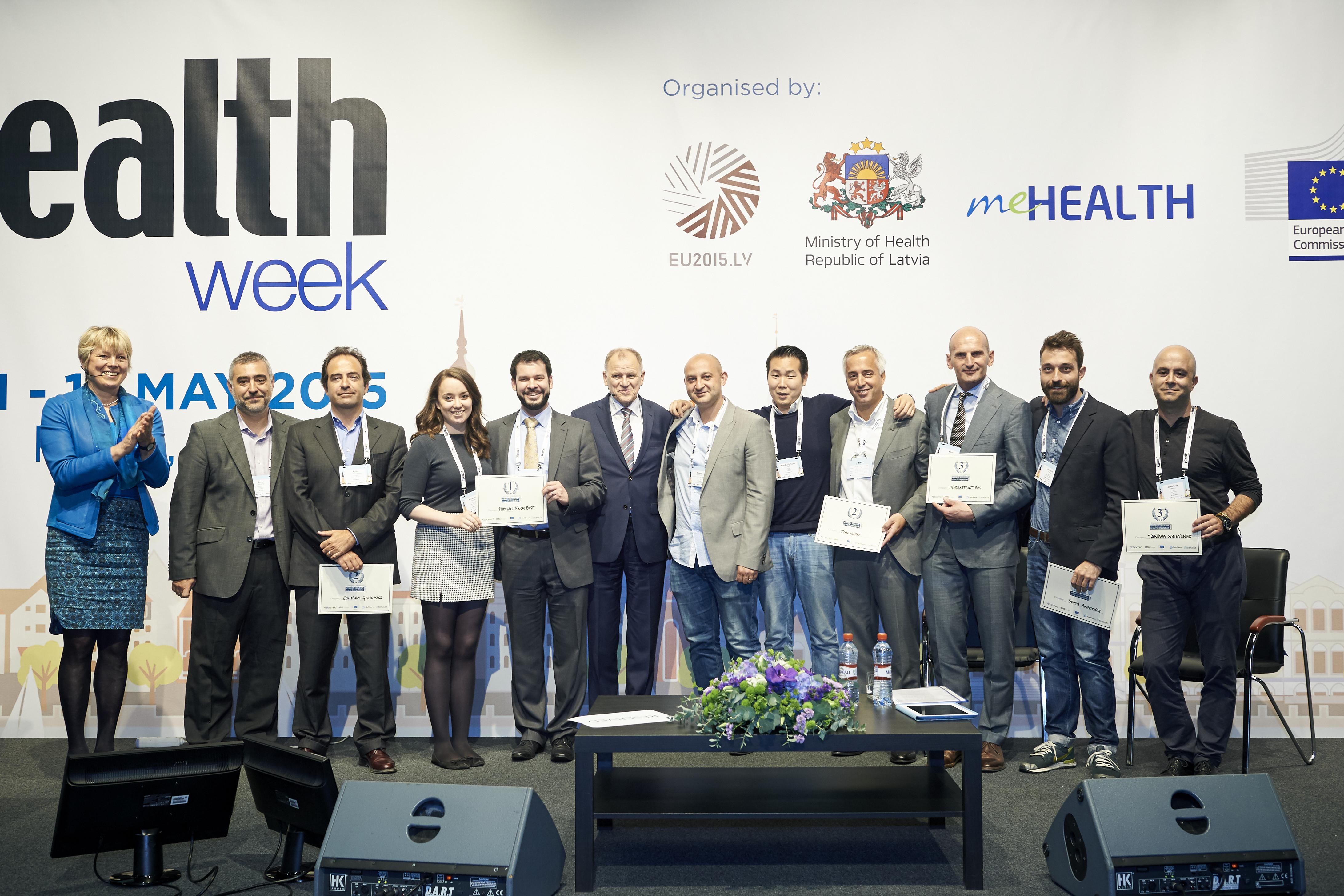 SME eHealth konkurso laimėtojai.
