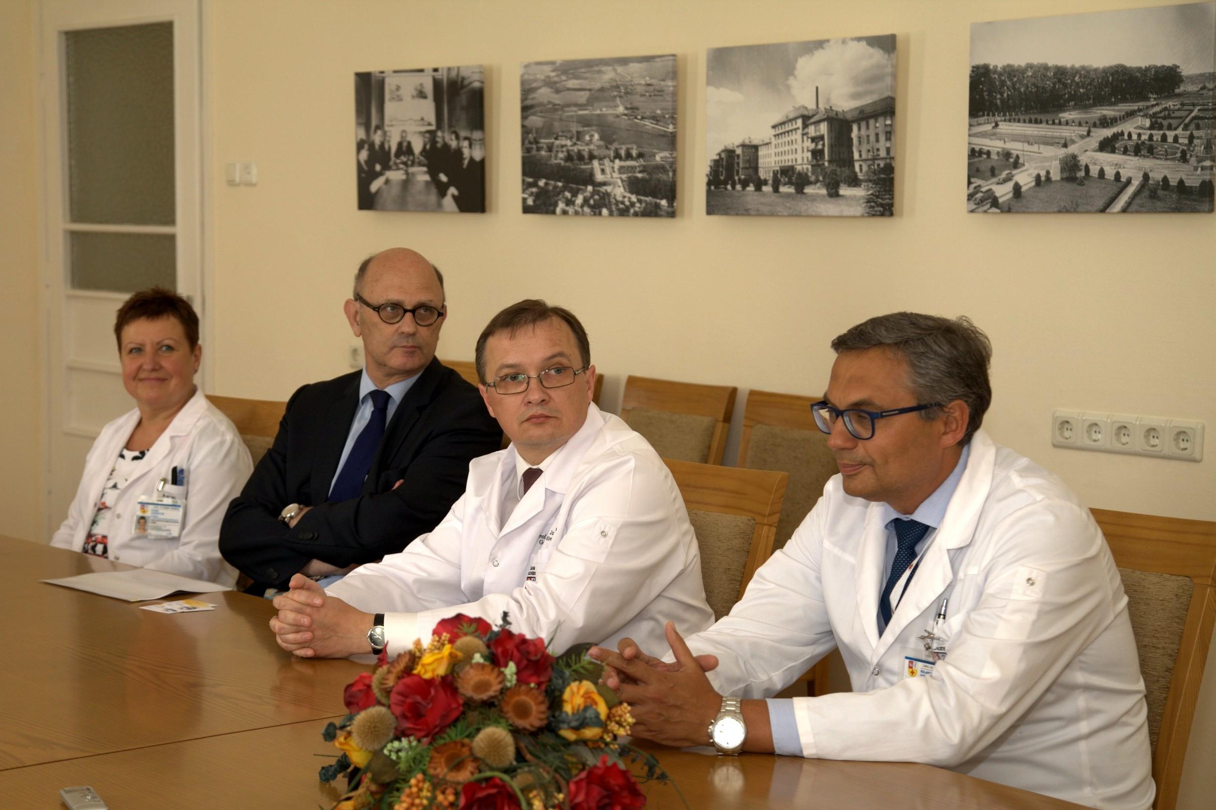 Profesorius Dietger Niederwieser (antras iš kairės) (L. Andriušo nuotr.)