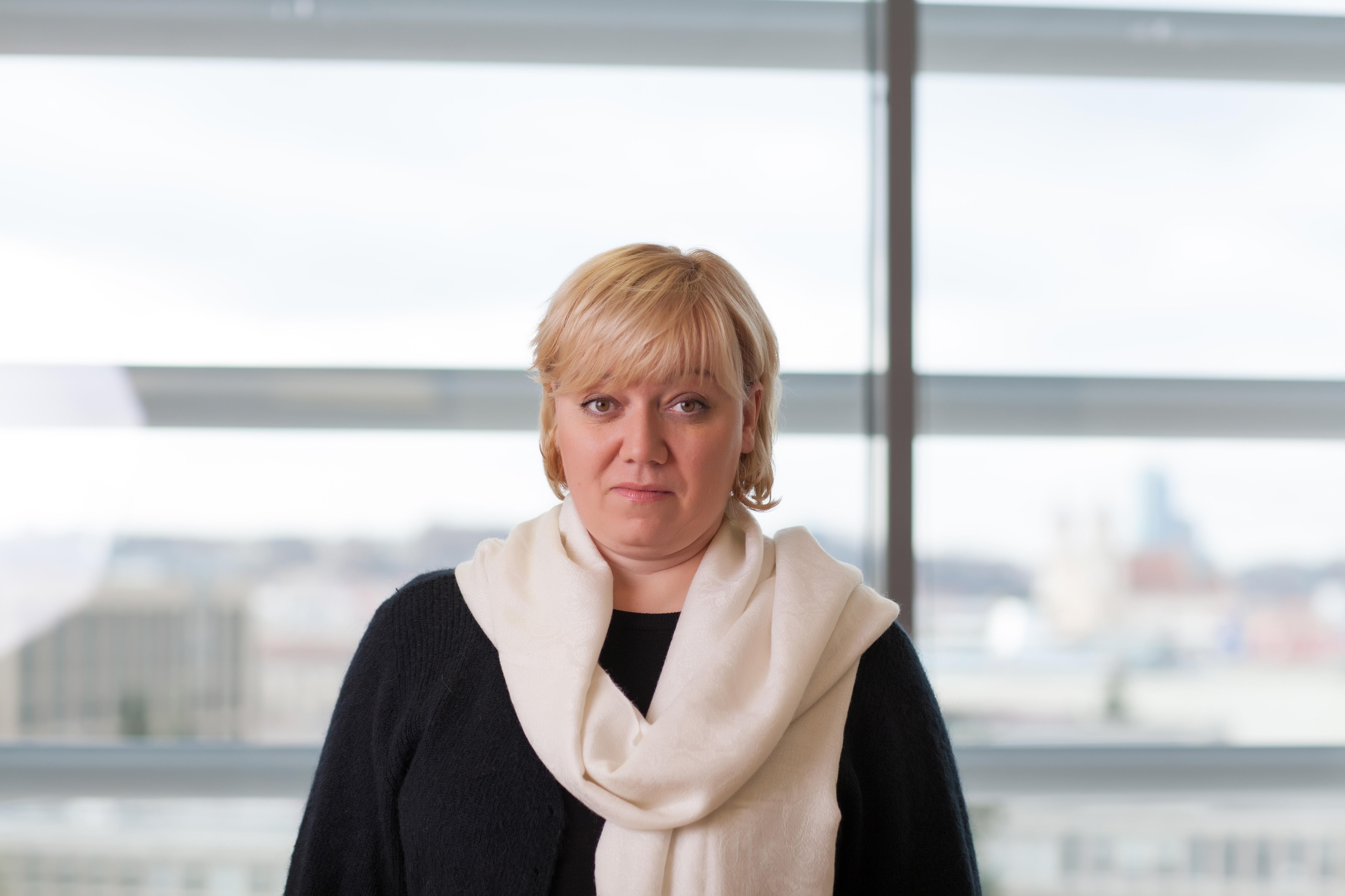 VLK Draudžiamųjų privalomuoju sveikatos draudimu registro skyriaus vedėja Natalija Jelenskienė (nuotr. VLK)