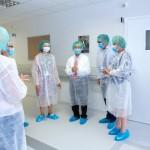 Kauno klinikose viešėjo garsus kraujodaros kamieninių ląstelių transplantacijų specialistas