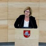 Generalinė prokuratūra patvirtino, kad ministrė apklausta kaip liudytoja