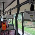 Žinutė pacientams – miestų autobusuose