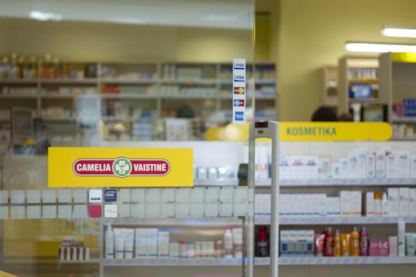 """UAB """"Nemuno vaistinė"""" priklauso """"Camelia"""" vaistinių tinklas."""