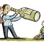 Vaikai, užaugę neblaivioje aplinkoje, serga dažniau