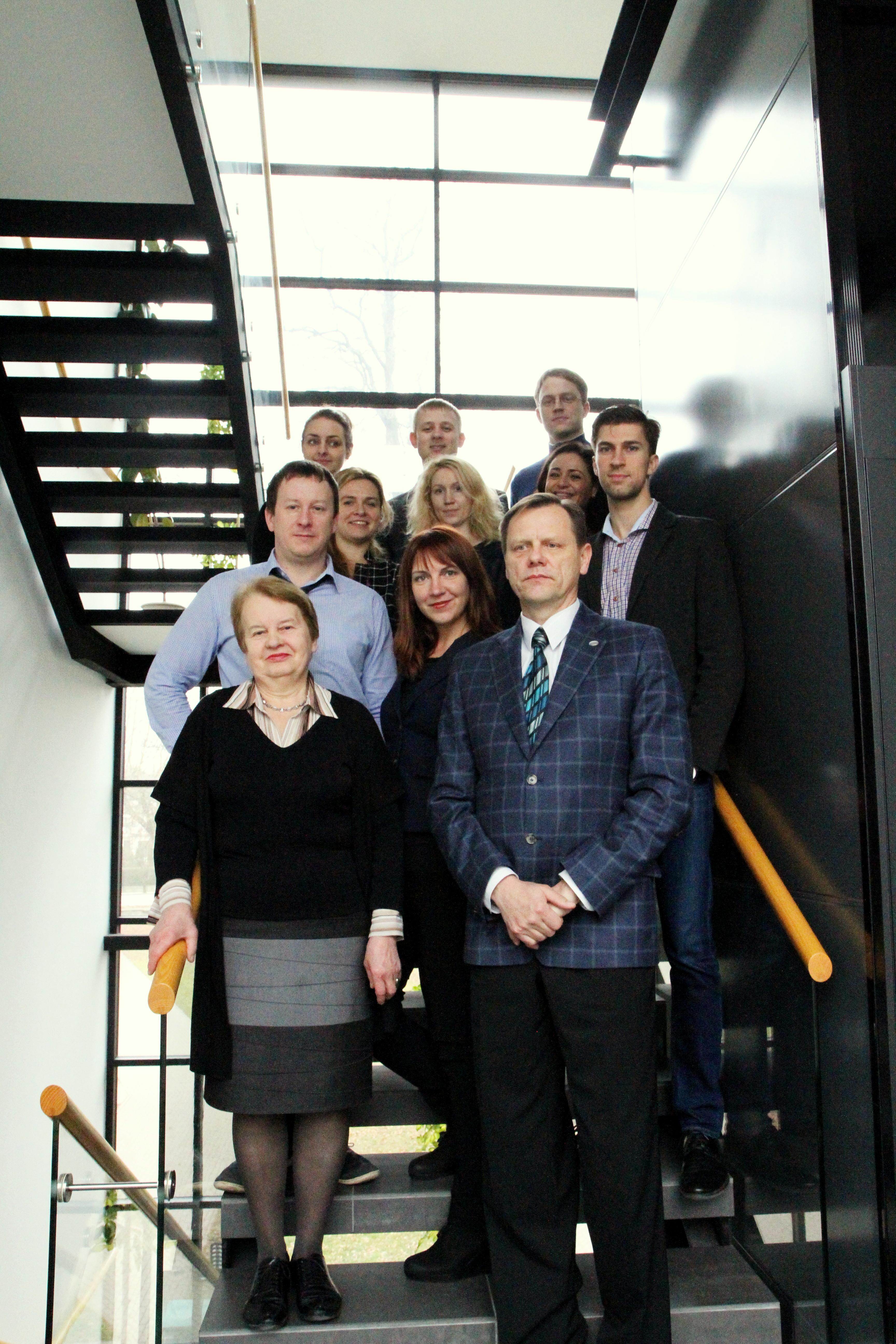 J.Liesienės ir G.Juodžbalio vadovaujamos mokslinės grupės (KTU nuotr.)