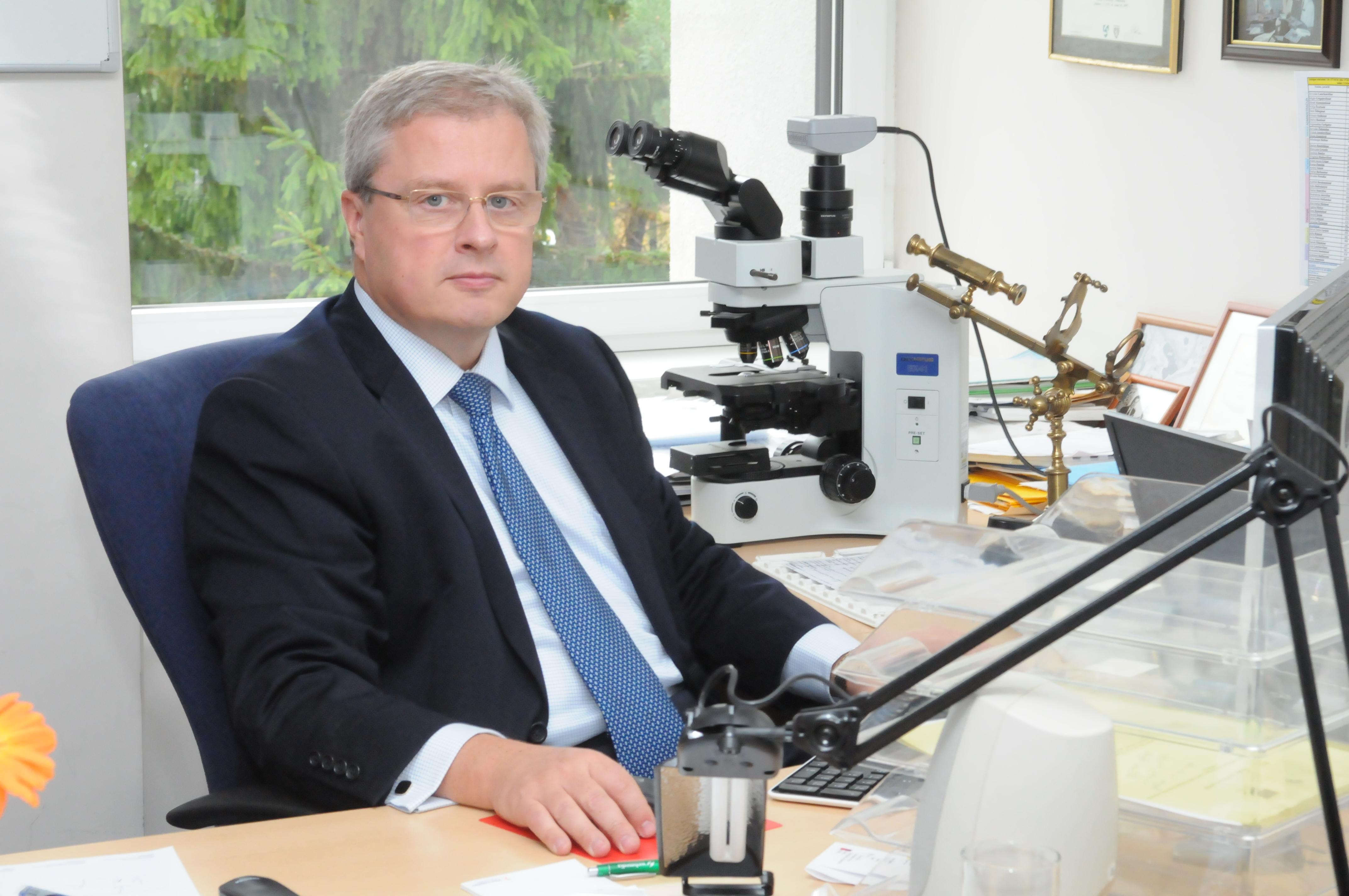 prof. Arvydas Laurinavičius (P. Katausko nuotr.)