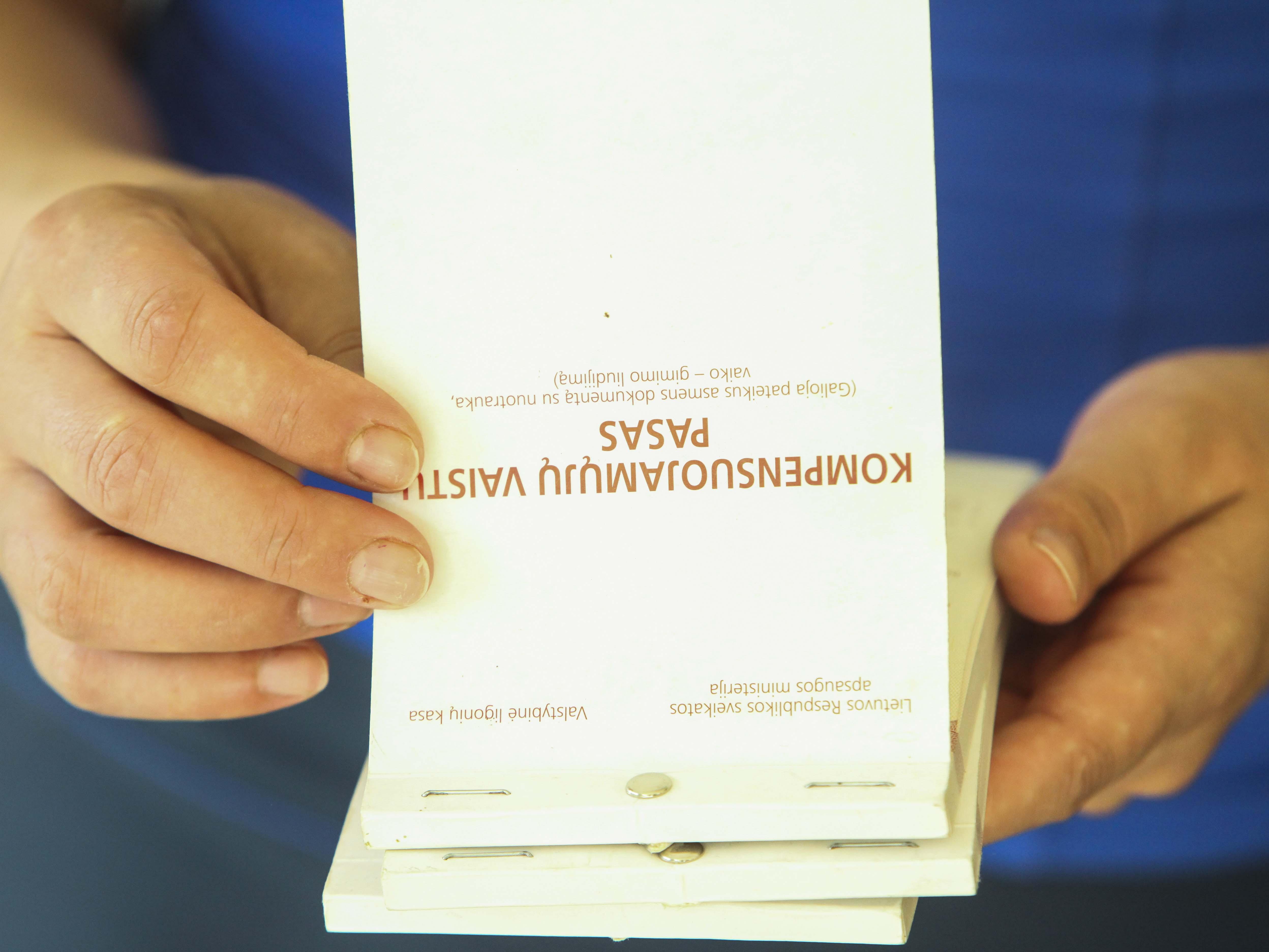 Kompensuojamųjų vaistų pasas (ELTA nuotr.)