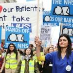 Streikuoja britų gydytojai rezidentai