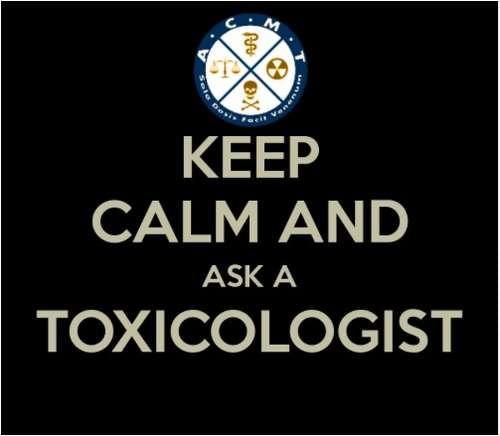 Ramiai! Paklausk toksikologo.