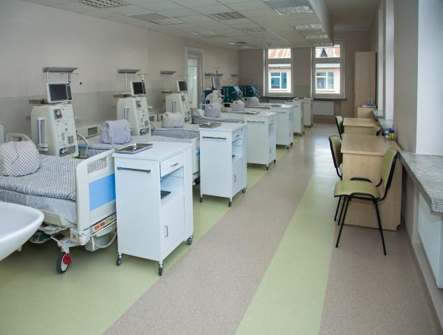 Hemodializės poskyris po rekonstrukcijos (Kauno klinikų nuotr.)
