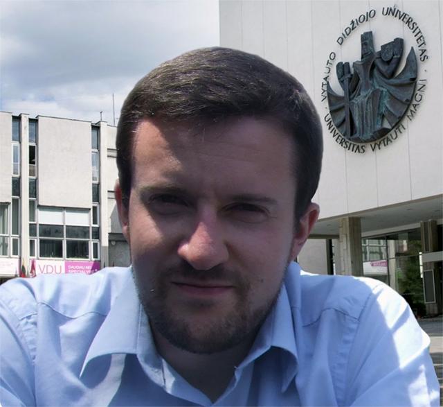 VDU doktorantas Paulius Ruzgys. (VDU nuotr.)