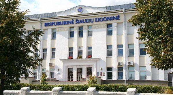 Respublikinė Šiaulių ligoninė. (15min.lt nuotr.)
