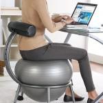 Mokslininkai tyrė balansinio sėdėjimo naudą sveikatai