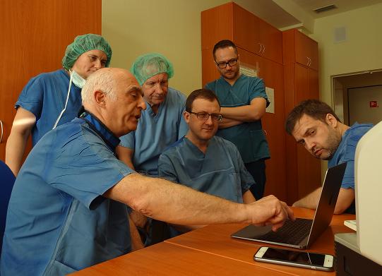 Pasiruošimas operacijai naudojant vaizdų navigaciją. (santa.lt nuotr.)
