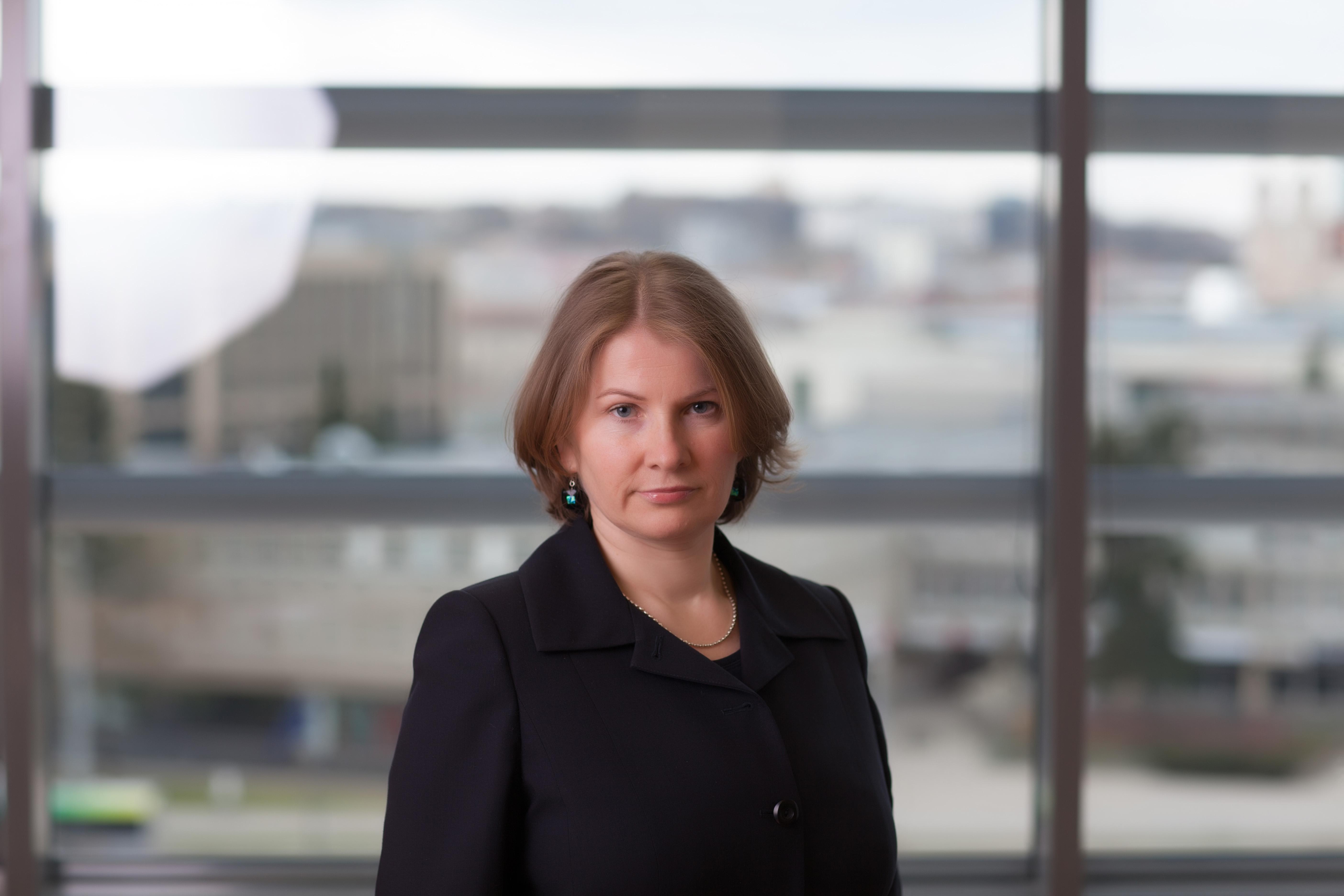 VLK Sveikatos priežiūros įstaigų aprūpinimo skyriaus vedėja Lina Reinartienė