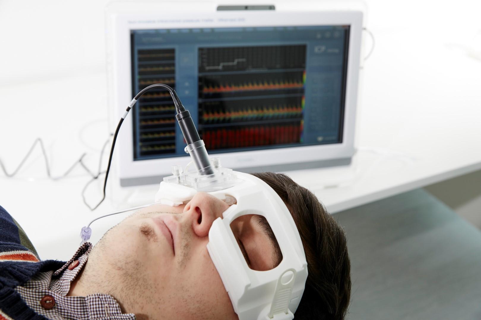 Ultragarsis galvospūdžio matuoklis (KTU nuotr.)