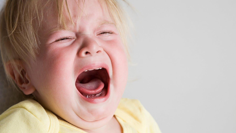 Vaikas verkia