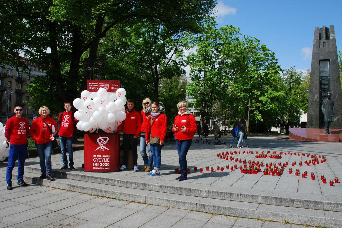 Greitieji ŽIV tyrimai. (Organizatorių nuotr.)