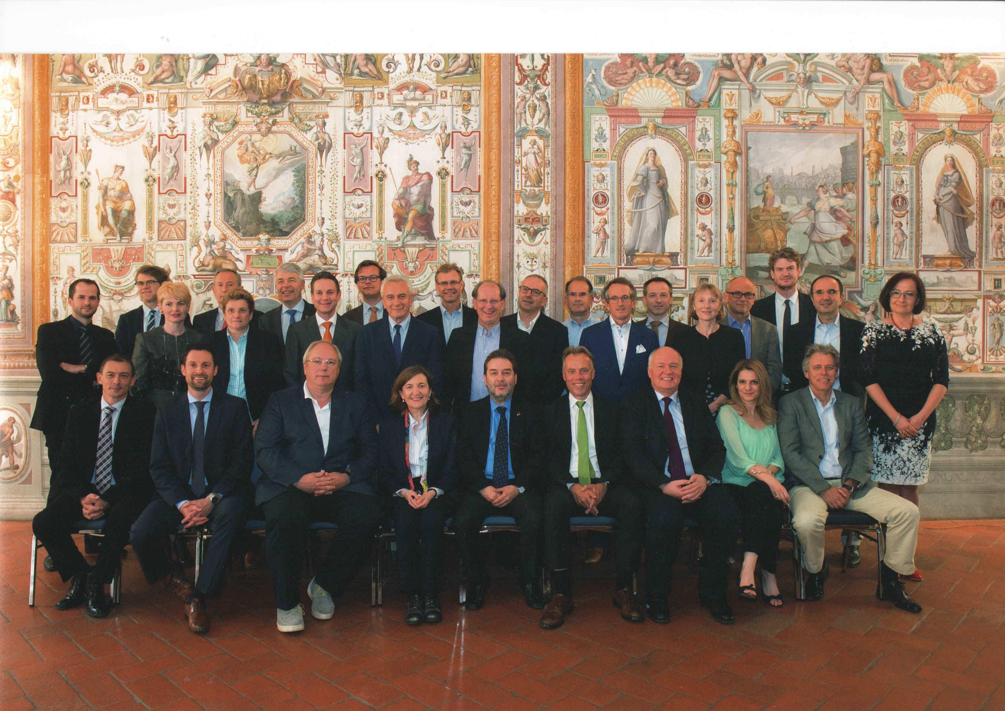 Europos kardiologų draugijos Širdies nepakankamumo asociacijos valdybos nariai 2016 m.
